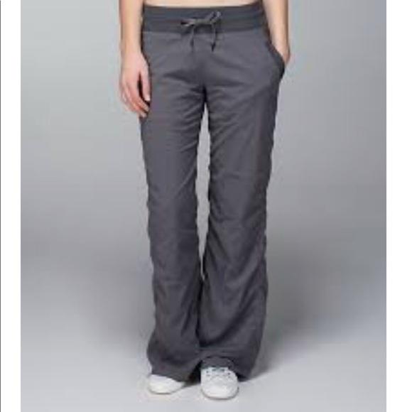 010ee8137 lululemon athletica Pants - Lululemon Unlined Dance Studio Pant II Dark  Slate